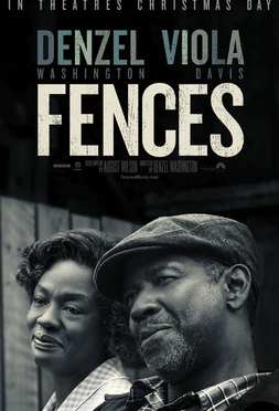 This is a poster for Fences (film). The poster art copyright is believed to belong to the distributor of the film, the publisher of the film or the graphic artist.