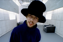 Screenshot of the Virtual Insanity video