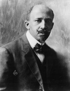 W.E.B Dubois in 1918